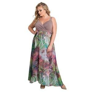 Igigi Sleeveless Full Lenght Evening Gown Size 34